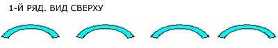 ПВХ ленточные завесы 1 ряд